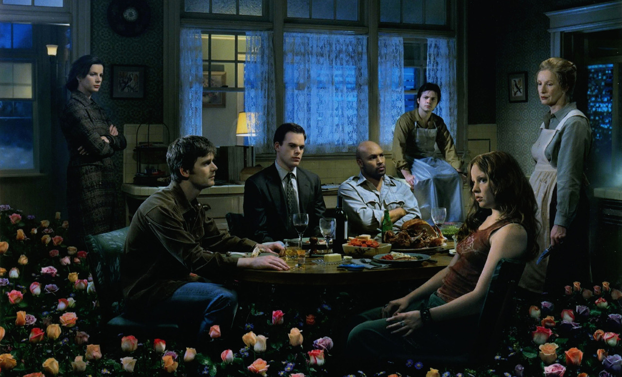 HBO's Six Feet Under 3rd Season DVD Cover Photography by Gregory Crewdson