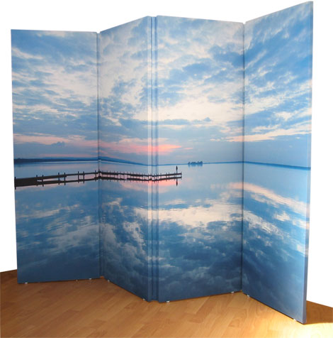 Make your own fabric room divider ArtisanHD