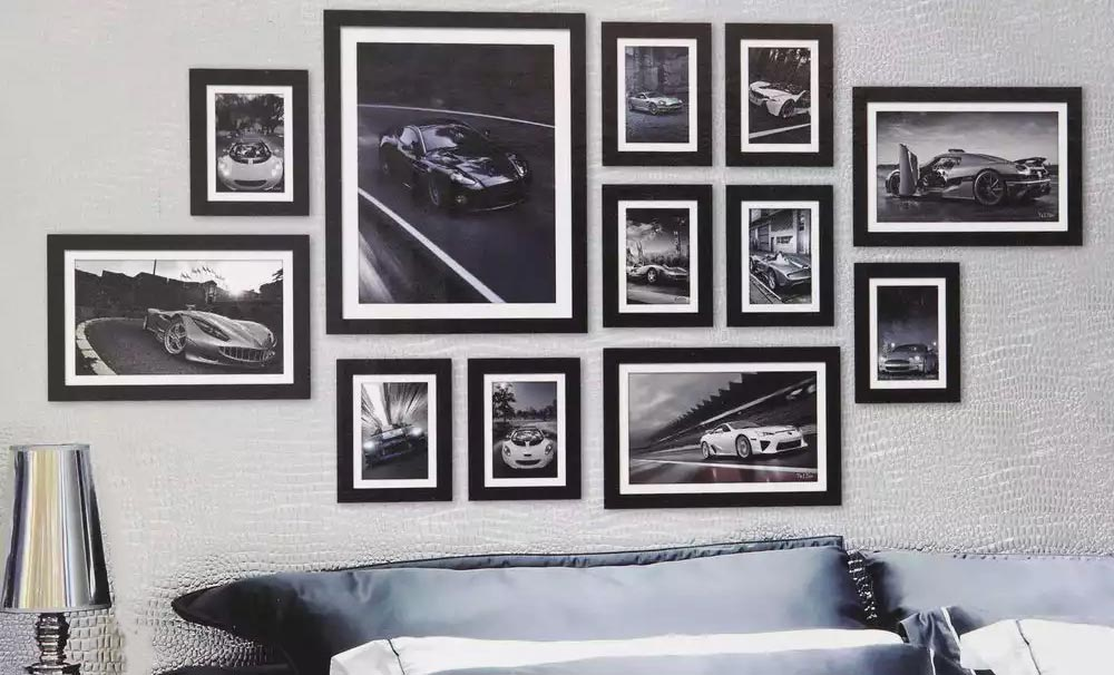 Create A Focal Point With A Custom Photo Collage Wall Print