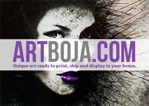 ArtBoja: Unique fine art ready to print, ship and display in your home.