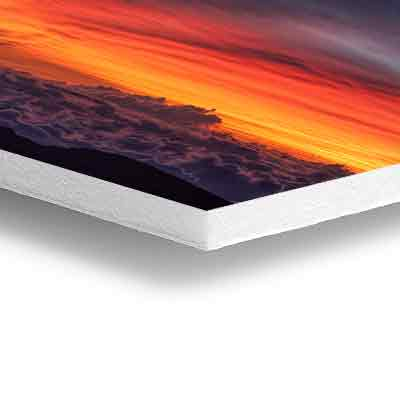 high definition printing white gatorboard