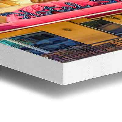 high definition printing white sintra
