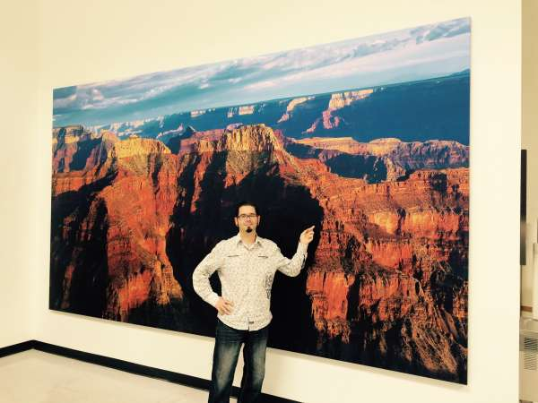 Custom Large Format Printing of Grand Canyon