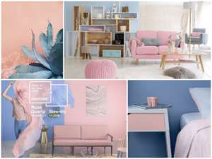 Professional Color Printing and the 2016 Pantone Color of the Year ROSE QUARTZ & SERENITY (PANTONE 13-1520 & PANTONE 15-3919).
