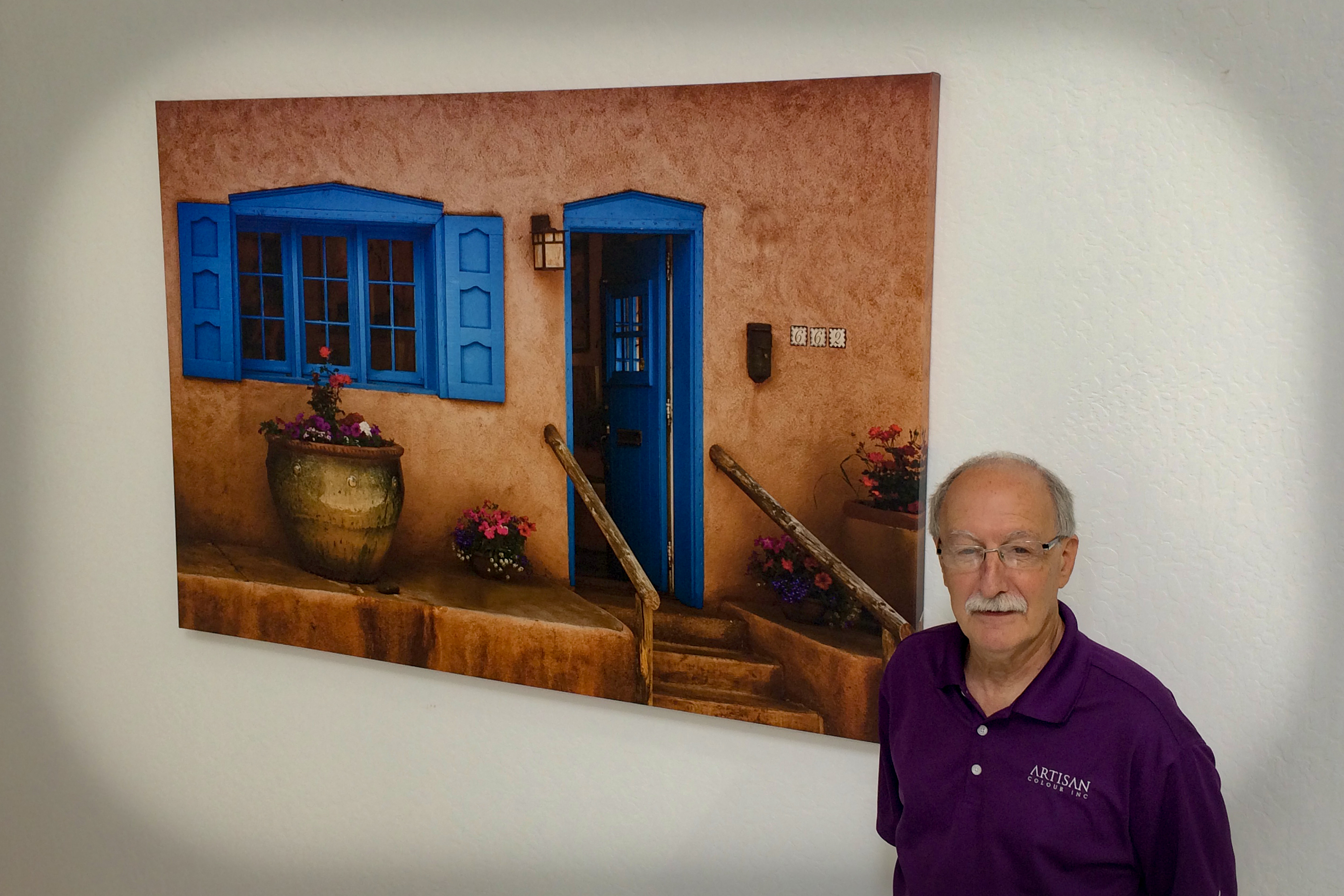Photo Printing services - on large canvas