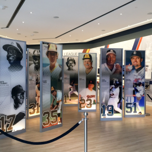 Large Format Digital Printing for Padres Hall of Fame