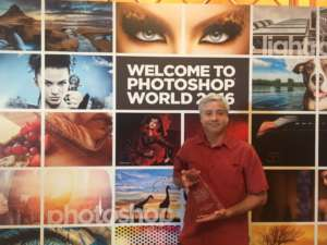 Guru Award winner at Photoshop World 2016
