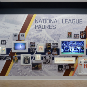 ArtisanHD provides Large Format Digital Printing for San Diego Padres Hall of Fame