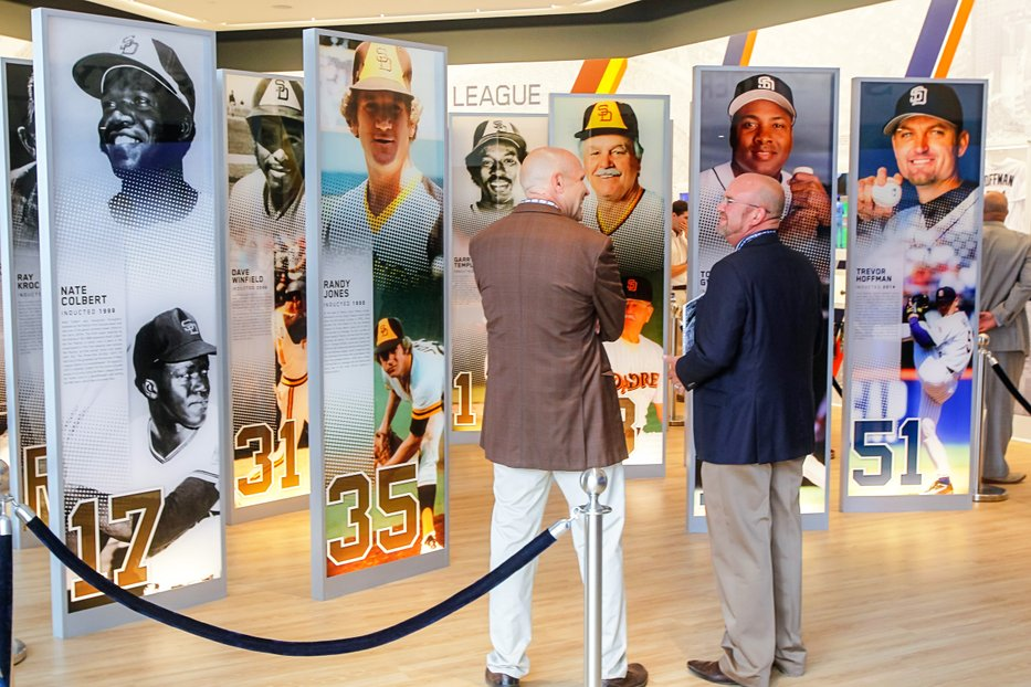 Hall of Fame Large Format Digital Printing for the San Diego Padres