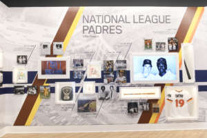 environmental graphics padres hall of fame