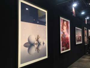 Big Prints on display at the Wedding and Portrait Photography Expo