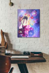 Custom wall decor prints are perfect for above your home office