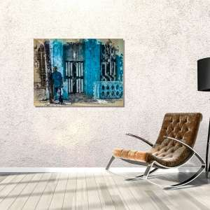 ArtBoja Room Accented with a Custom Wall Decor Print