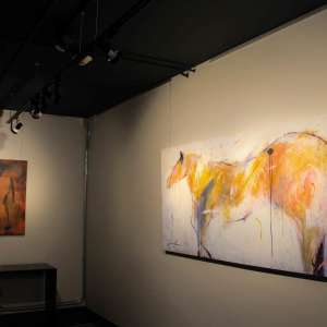 Custom Hotel Gallery Art Horse Prints by Linda Ingraham at FOUND:RE