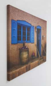 Door Painting Canvas - unique custom photo gifts