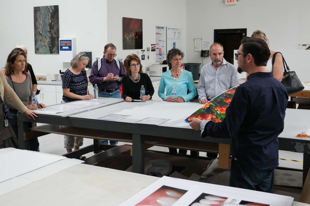 Mike Goldner provides an Artisan Print Shop Tour