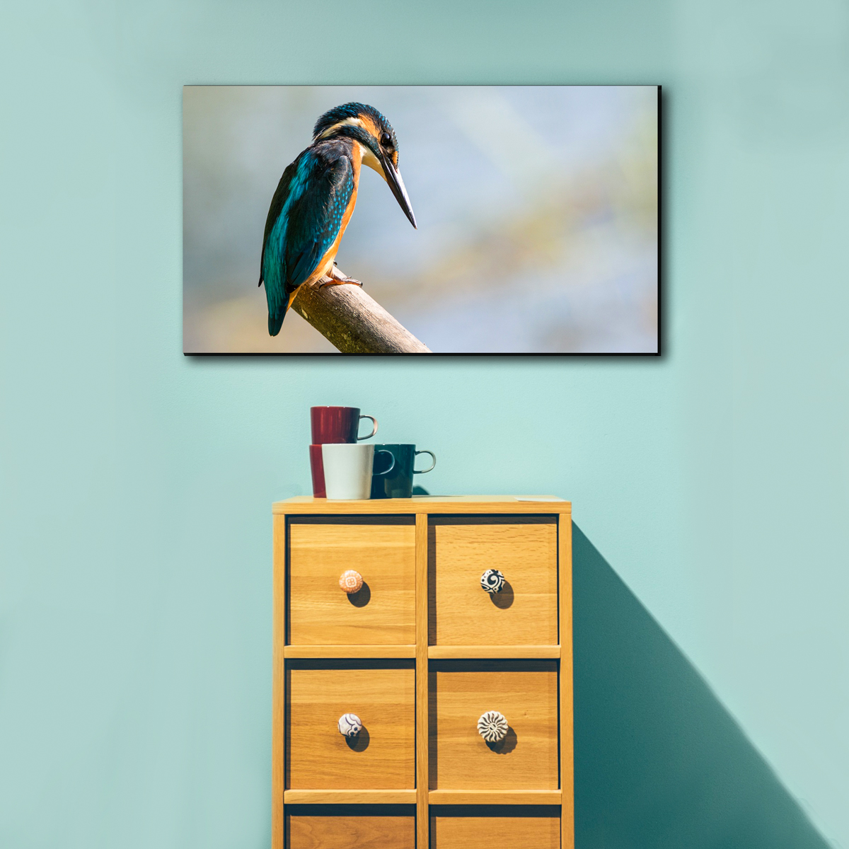 Canvas prints bird - Photo to Canvas Print