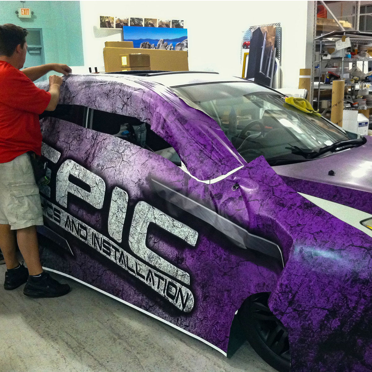 Car Wrap Custom Printing Services