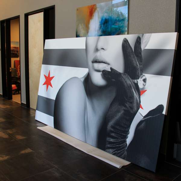 Large Format Fashion Canvas