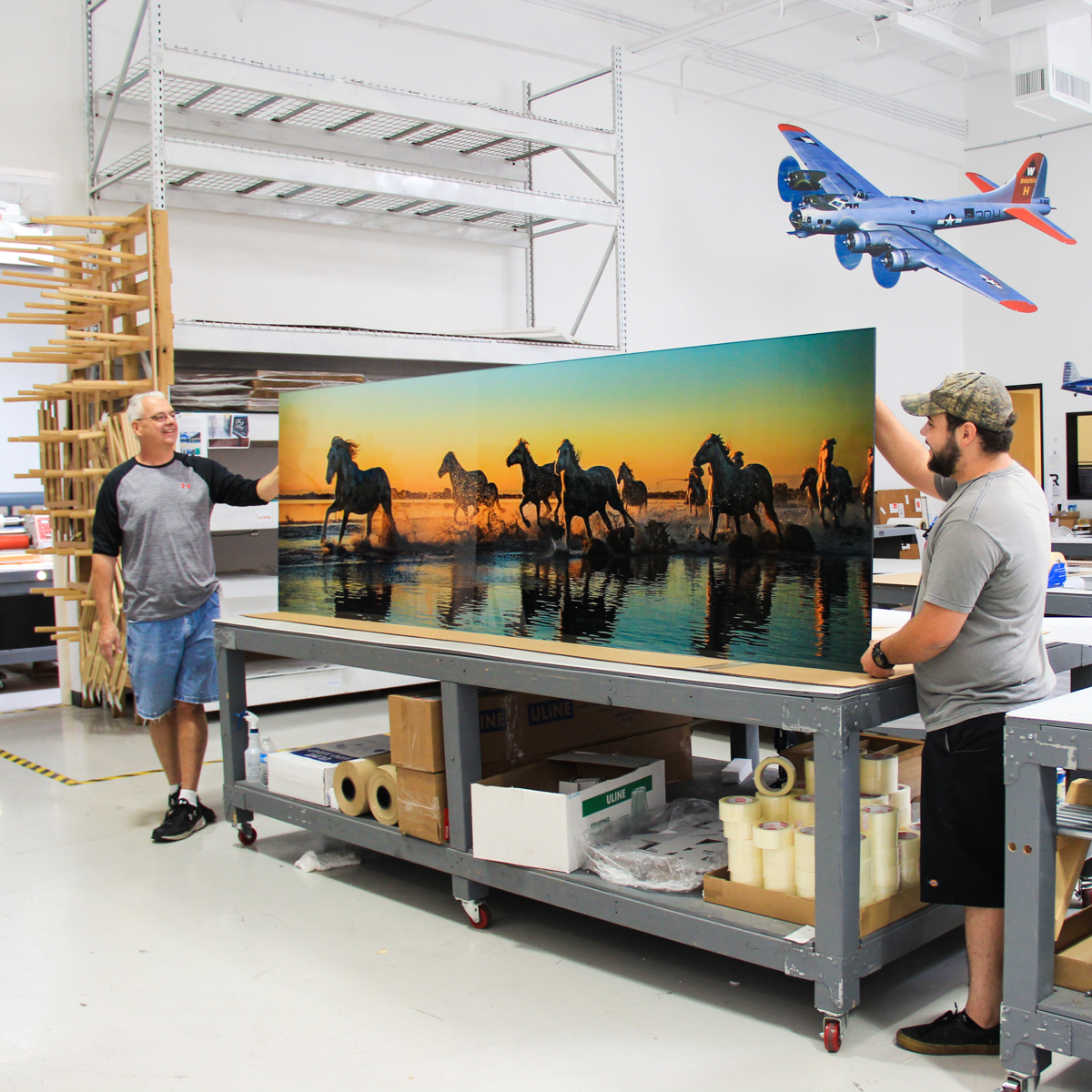 Custom Large Format Prints - Plexi
