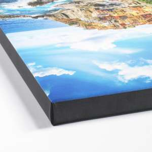 High Quality Digital Photo to Canvas Prints Black Wrap