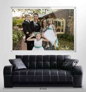 Family Photo Gift Ideas, Photos on Acrylic