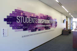 environmental graphics 3D signage