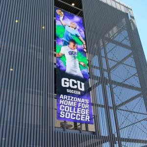 Environmental Graphics for GCU exterior banner