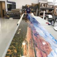 Panoramic Printing XL by digital art photography expert Paul Bartell