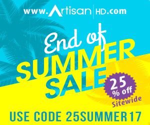 Use Promocode 25SUMMER17 to Save 25% on ALL Professional Printing from ArtisanHD.com Site-Wide During ArtisanHD 's Professional Photo Printing Labor Day and End of Summer Sale