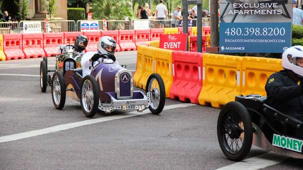 grand prix of scottsdale Artisan driver