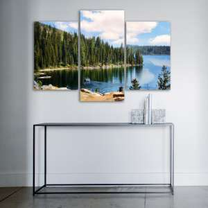 Custom photo prints Split of Lake by ArtisanHD
