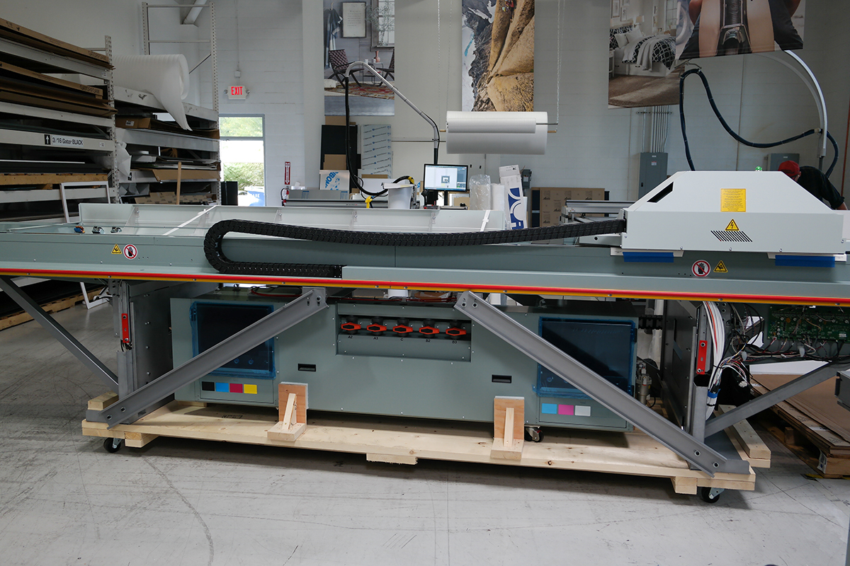 Large Format Printing With Canon Océ printer piece