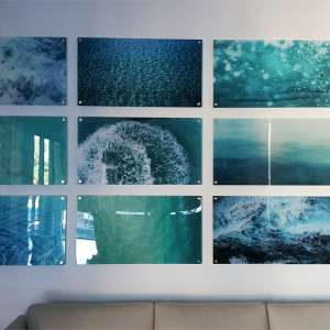 wall art decor prints ocean-wall acrylic splits artisanhd
