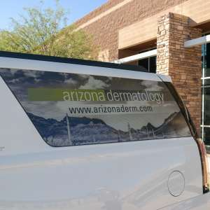 Arizona Dermatology Vehicle Window Wrap