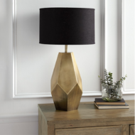 custom print decor gold lamp