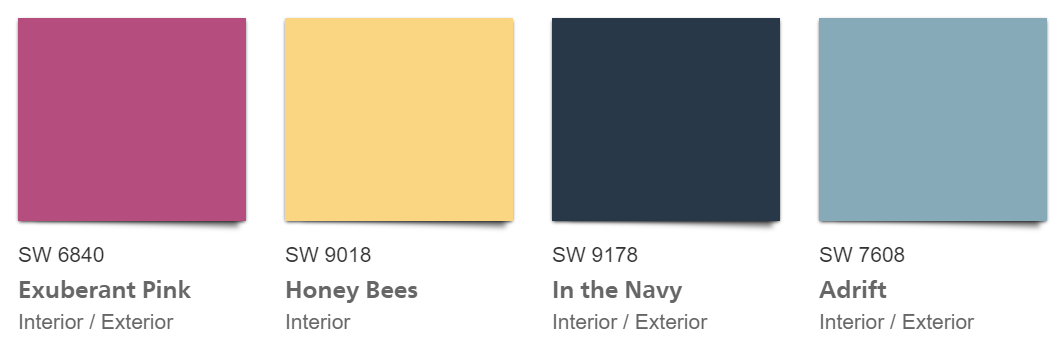 Professional Colors that Coordinate with Oceanside