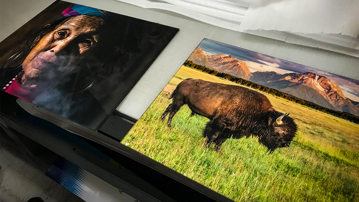 woman buffalo prints artisanhd