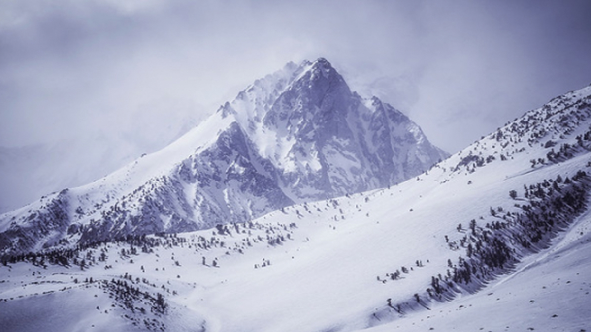 Peter Coskun ArtisanHD Print Shop Giveaway Winner Snowy White Mountains