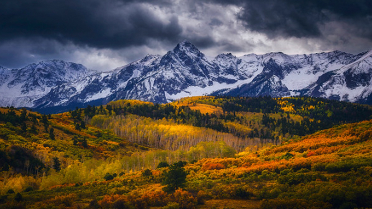 Peter Coskun Print Shop Giveaway Winner Orange Fields Snowy Landscape ArtisanHD