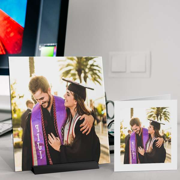 spiffysquare photo gift decor graduation