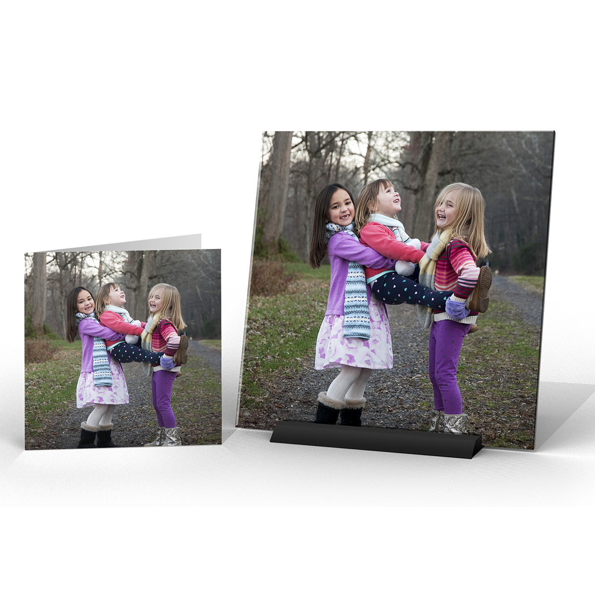 spiffysquare photo gift decor happygirls