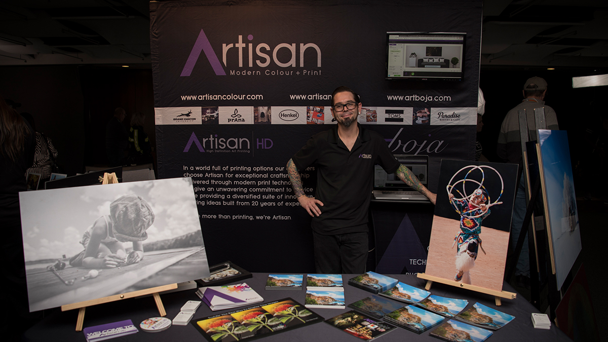 Profesional Photographer AzPPA Event Mike ArtisanHD Booth