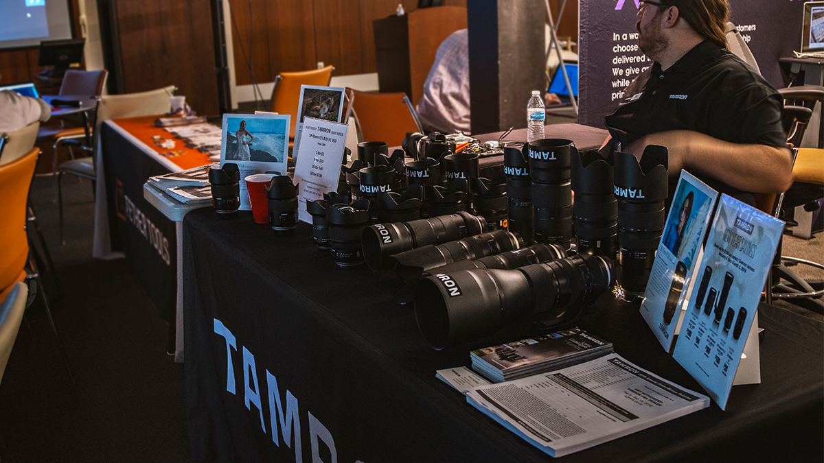 Professional Photographer Tamron Camera ArtisanHD
