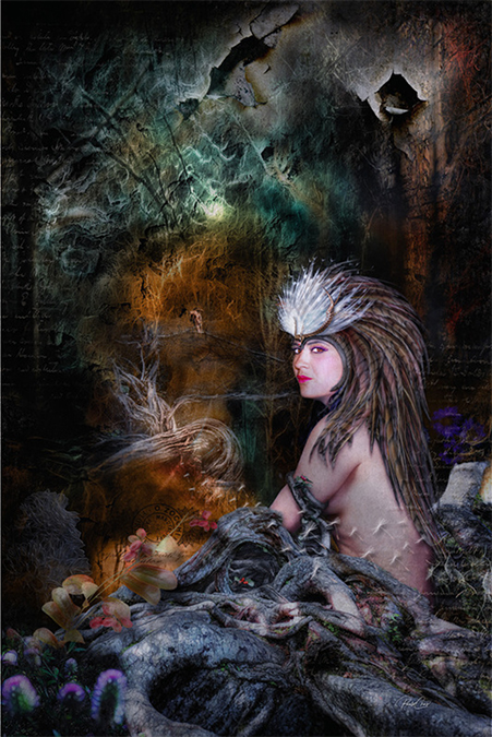 natures goddess artwork by paulo crus photoshop world artistry artisanhd