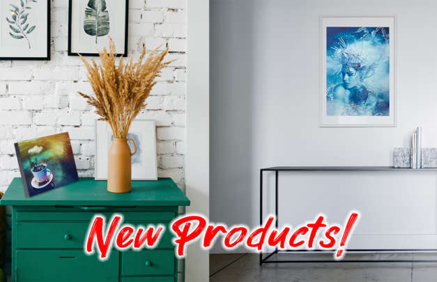 hd pictures printed on new artisanhd products