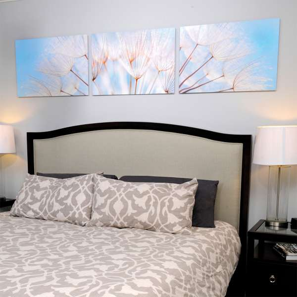 flowers bedroom ChromaLuxe metal prints artisanhd