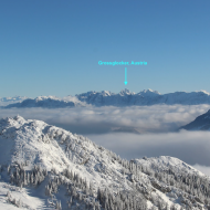 Image of mountains with reference point of 160 plus miles away vacation pictures visual